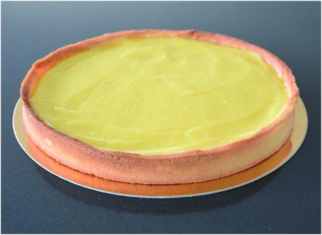 Tarte au citron meringuée crème citron2
