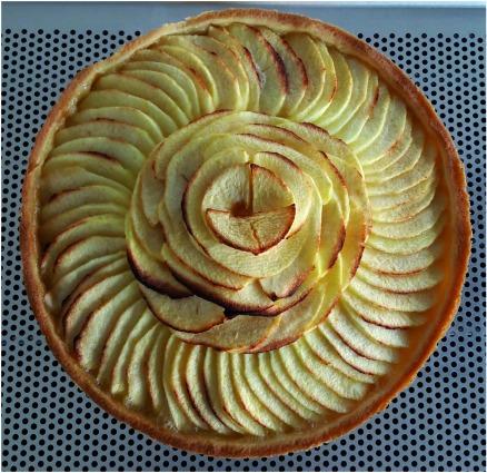 La Tarte aux Pommes est cuite!