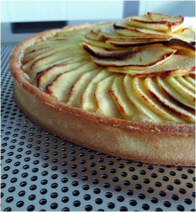 Tarte aux pommes finie sans nappage2