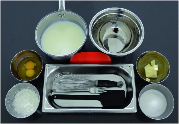 Flan aux pruneaux matériel ingrédients crème