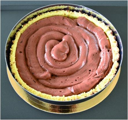 Parfait chocolat poires montage mousse chocolat